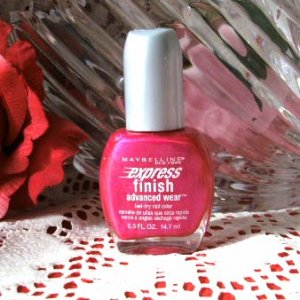 Maybelline Express Finish Nail Polish 110 On Fire