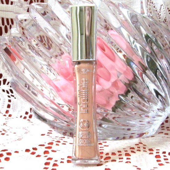 L'Oreal Infallible Never Fail Lip Gloss 805 Suede