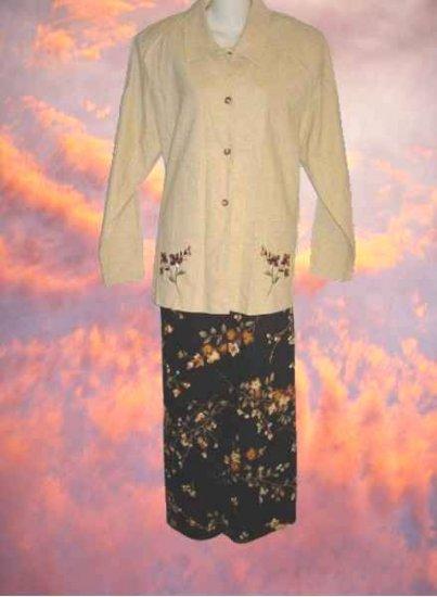 Gorgeous Dress & Jacket By Blair Boutique. Sz L