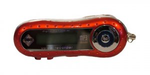 New Red or Silver MP3 Player 256 MB