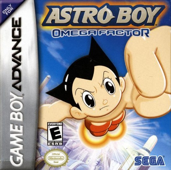 Gameboy Advance Astro Boy