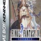 Gameboy Advance FINAL FANTASY IV
