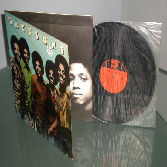 THE JACKSONS , THE JACKSONS ( R&B Soul RARE Vinyl Record LP )