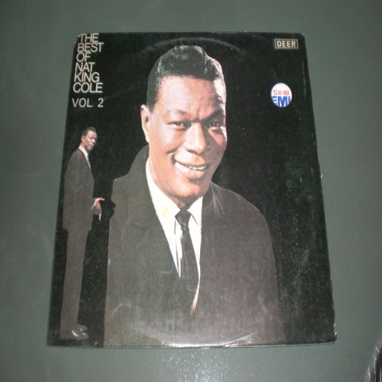 NAT KING COLE , THE BEST OF VOL. 2 ( Jazz Vinyl Record LP )