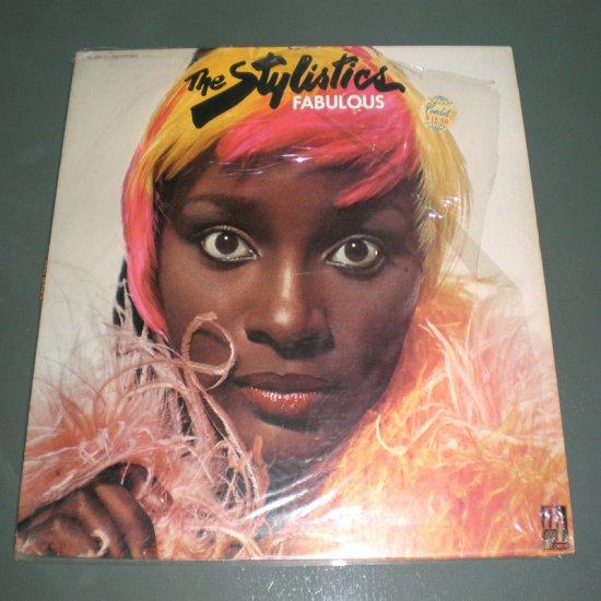 THE STYLISTICS , FABULOUS ( USA R&B Soul Vinyl Record LP )