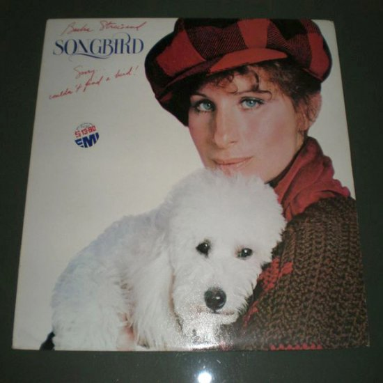 BARBRA STREISAND : SONGBIRD  ( Pop Ballad Vinyl Record LP )