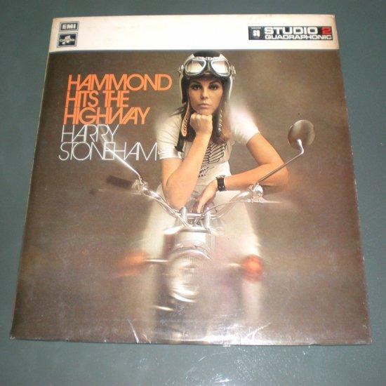 HARRY STONEHAM, hammond hits the highway ( UK Exotica Vinyl Record LP )