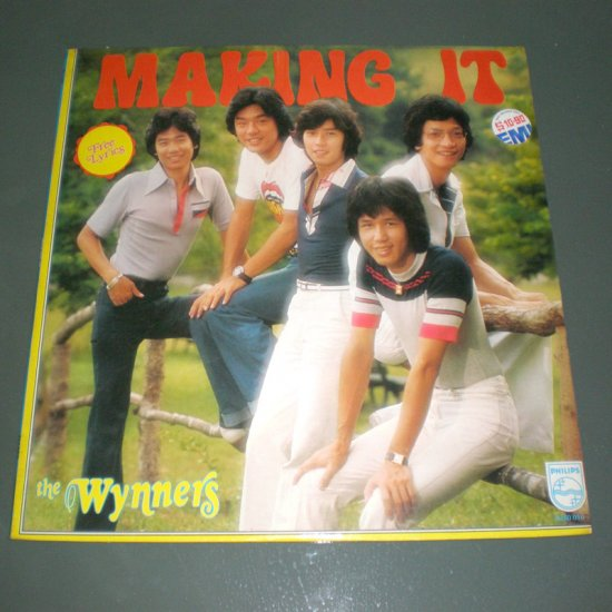 THE WYNNERS : MAKING IT ( Hong Kong English Pop VINYL RECORD LP )