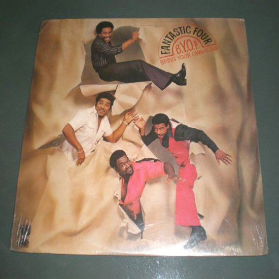 FANTASTIC FOUR , Bring Your Own Funk ( USA Funk Soul DISCO Record LP- Sealed )