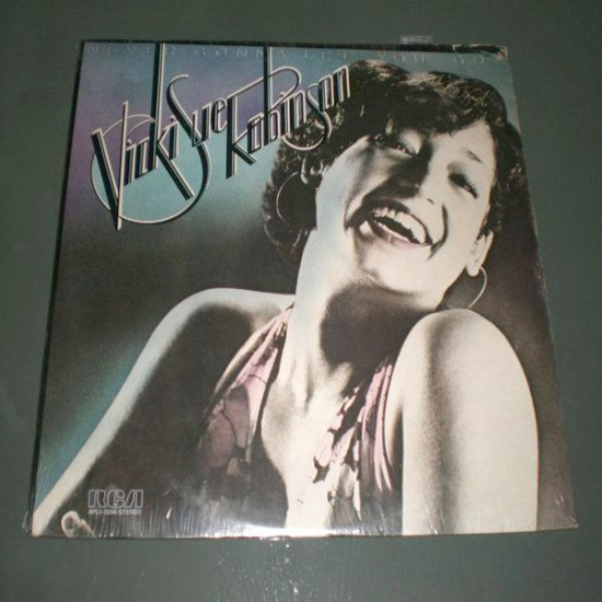 VINKI SUE ROBINSON : Never Gonna Let U Go ( US Electronic Funk Soul  Vinyl Record LP )
