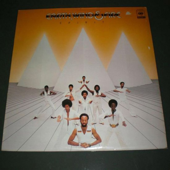 EARTH WIND & FIRE : SPIRIT (  Funk Vinyl Record LP )
