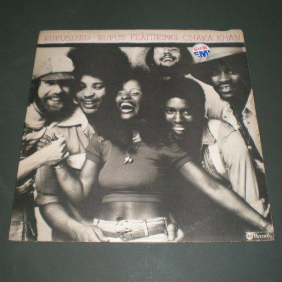RUFUS featuring CHAKA KHAN : RUFUSIZED ( R&B Soul Vinyl Record LP )