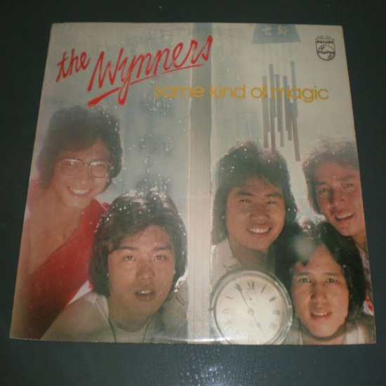 THE WYNNERS : SAME KIND OF MAGIC ( HK English Pop Vinyl Record LP )