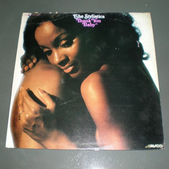 THE STYLISTICS : THANK YOU BABY ( Funk Soul Vinyl Record LP )