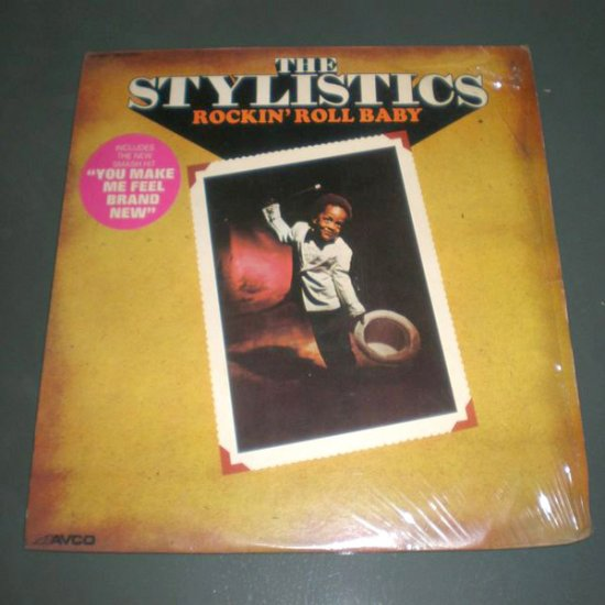 THE STYLISTICS : ROCKIN' ROLL BABY ( Funk Soul Vinyl Record LP )