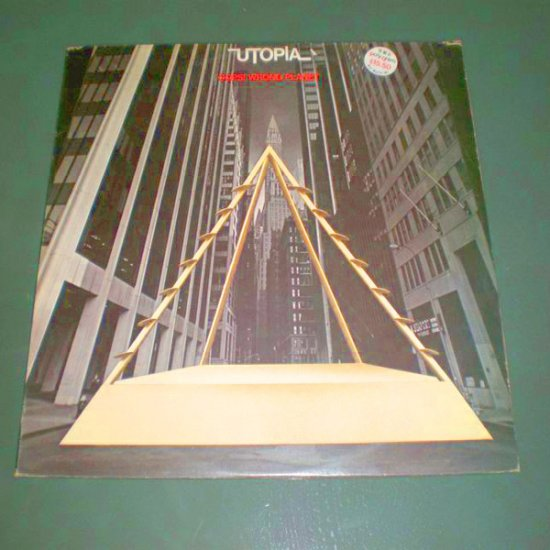 UTOPIA : OOPS! WRONG PLANET ( U.S Pop Rock Vinyl Record LP )