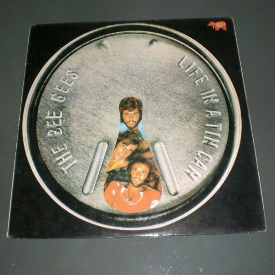 BEE GEES : LIFE IN A  TIN CAN ( Rock Pop Vinyl Record LP )