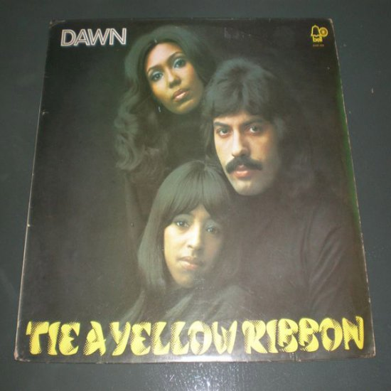 DAWN : TIE A YELLOW RIBBON ( U.S Pop Rock Vinyl Record LP )