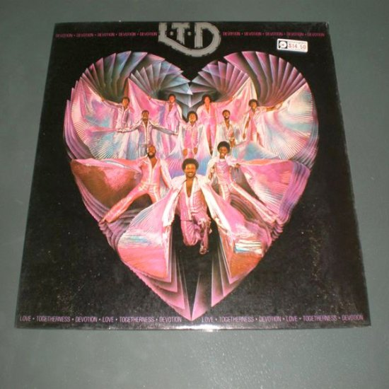 L.T.D : DEVOTION ( R&B , Funk Vinyl Record LP )