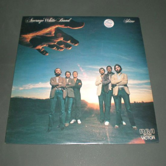 AVERAGE WHITE BAND : SHINE ( Funk R&B Vinyl Record LP )