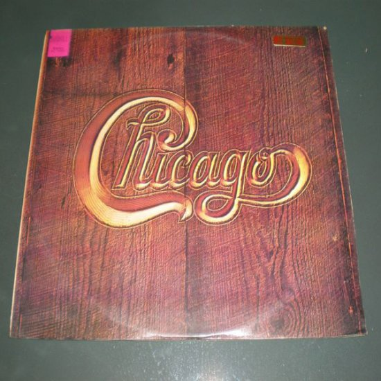 CHICAGO : CHICAGO V ( 1972 Rock Vinyl Record LP )