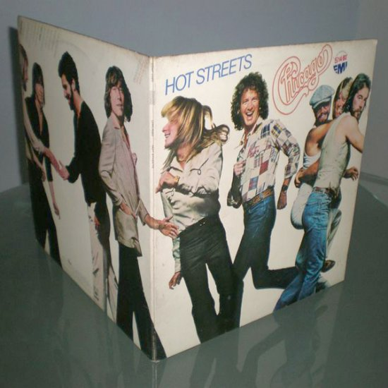 CHICAGO : HOT STREETS ( 1978 Rock Vinyl Record LP )
