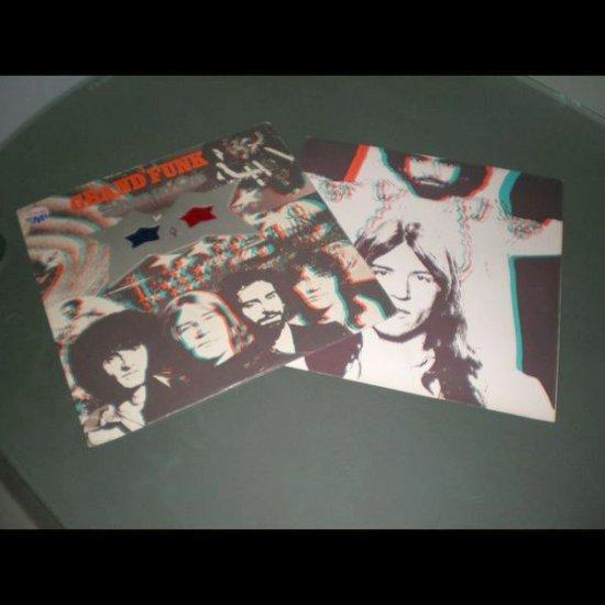 GRAND FUNK : SHININ' ON  ( 1974 Rock Vinyl Record LP )