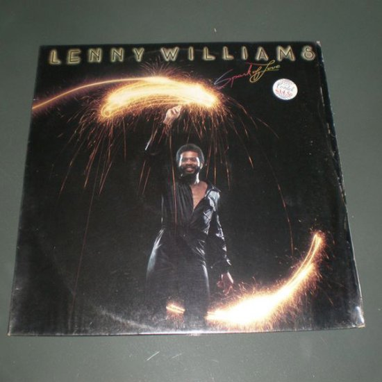 LENNY WILLIAMS : SPARK OF LOVE ( Electronic Disco Vinyl Record LP )