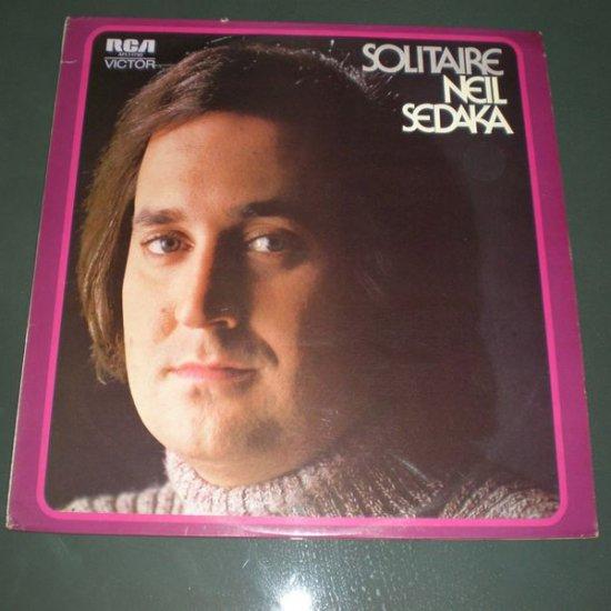 NEIL SEDAKA : SOLITAIRE ( 1972 Pop Vinyl Record LP )