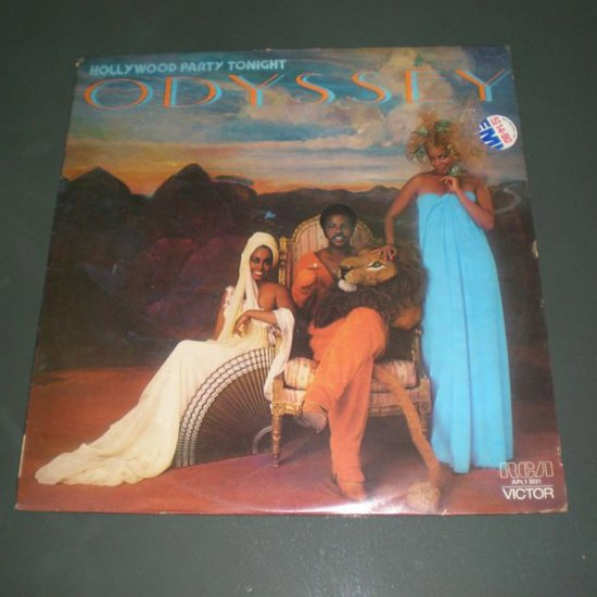 ODYSSEY : HOLLYWOOD PARTY TONIGHT ( Funk Soul Vinyl Record LP )