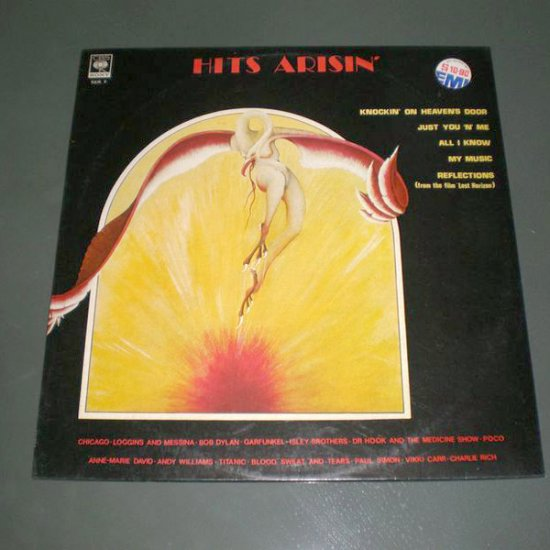 HITS ARISIN' : VARIOUS ARTISTS ( Vinyl Record LP )