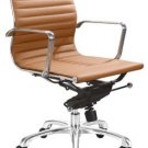 Modern Lider Office Chair - TERRACOTA
