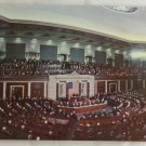 """Joint Session Congress"" VINTAGE POSTCARD Washington DC"