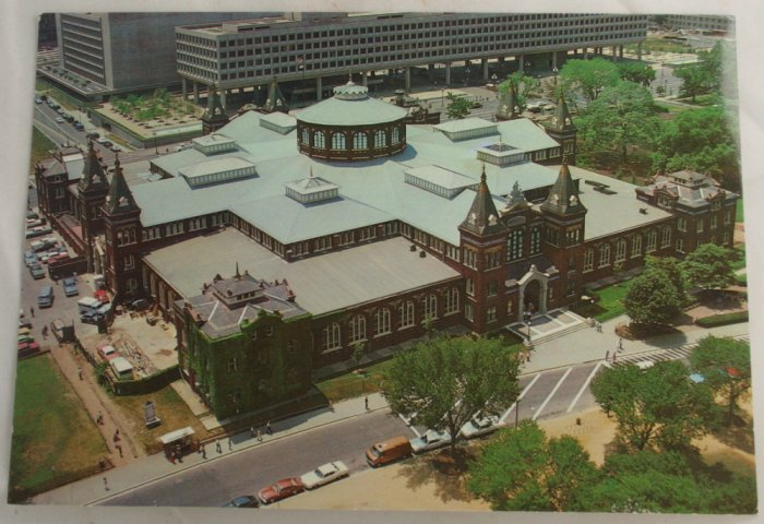"""Smithsonian Industries"" VINTAGE POSTCARD Washington DC"