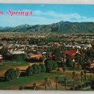 """Panorama of Palm Springs"" VINTAGE POSTCARD Palm Springs CA"