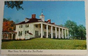 """Mount Vernon"" VINTAGE POSTCARD Mount Vernon Virginia"