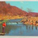 """Roaring River"" VINTAGE POSTCARD Cassville Missouri"