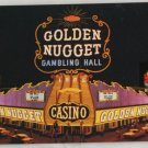 """Golden Nugget"" VINTAGE POSTCARD Las Vegas Nevada"