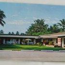 """Dearborn Manor"" VINTAGE POSTCARD Pompano Beach Florida"