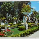 """East Garden""  VINTAGE POSTCARD Clearwater Florida"