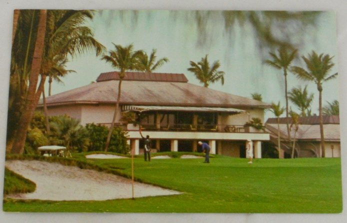 """The Breakers""  VINTAGE POSTCARD Palm Beach Florida"