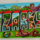 Greetings Ozarks VINTAGE POSTCARD Missouri Arkansas
