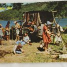 """Campin Out""  VINTAGE POSTCARD Arkansas Missouri OZARKS"