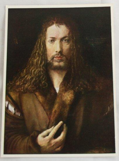 POSTCARD Germany-Albrecht Durer-Self Portrait