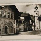 POSTCARD Germany-Bavaria-Mittenwald Obermarkt
