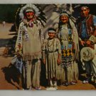 Color Postcard VINTAGE POSTCARD Chief Running Horse