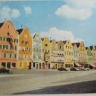 Color-VINTAGE POSTCARD-Scharding,Austria,Germany