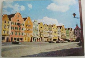Color-VINTAGE POSTCARD-Scharding,Austria,Germany