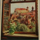 POSTCARD German-Nurnberg-Ludwig Mobler-Blick zur Burg