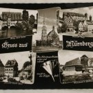 POSTCARD Germany-Bavaria-Nurnberg-Views B&W